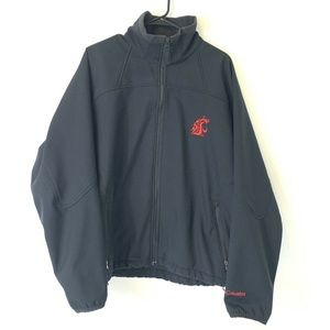 Washington State Cougars Soft Shell Jacket  XL
